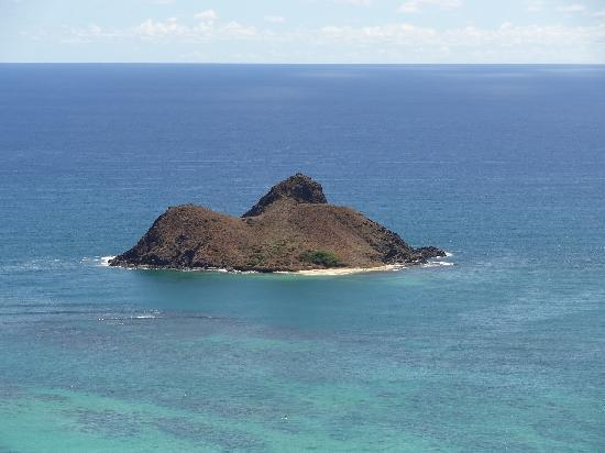 Lanikai Beach: 何島?