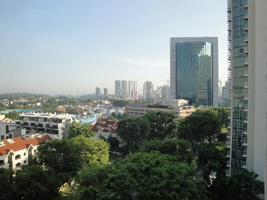 Hotel Royal Singapore: 部屋の窓からの風景