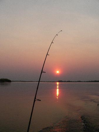 Shackletons: Fishing on mighty Zambezi at sunset