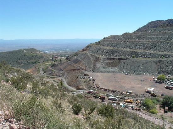 Jerome State Historic Park: Old mining area near Jerome