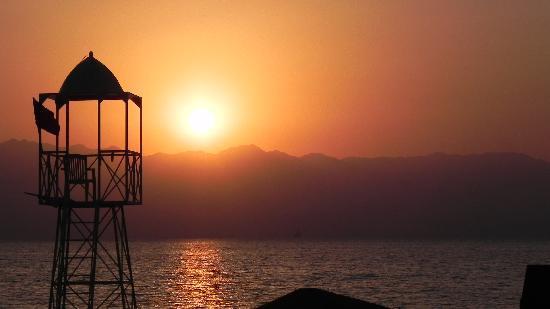 Sofitel Taba Heights: Levé de soleil