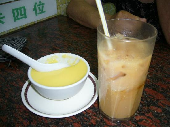 Yee Shun Milk Company: プリンと紅茶