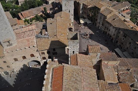Palazzo Pubblico e Torre Grossa: Views from Torre Grossa, San Gimignano