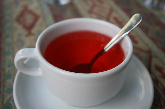 Mehmet and Ali Baba Kebab House: Rose hip tea.