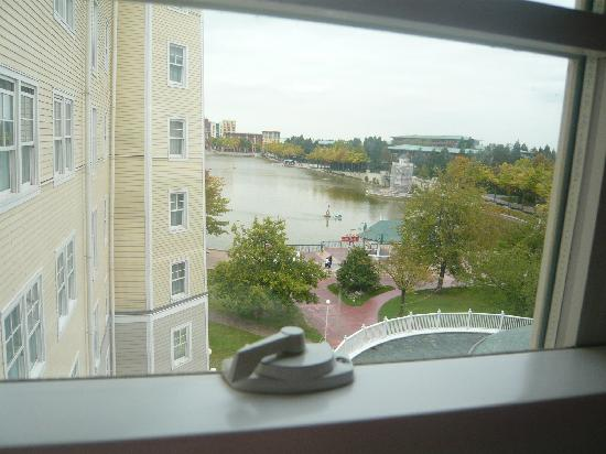 Disney's Newport Bay Club: The View from our room
