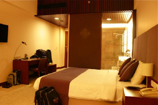 โรงแรมโนโวเทลญาจาง: The room
