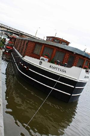 Botel Matylda: Outside of Boat