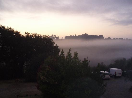 Agriturismo Marciano: view from our window