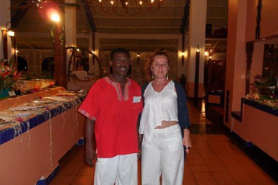 Andilana Beach Resort: Il mitico Jean Pierre, fatevi servire da lui!!!