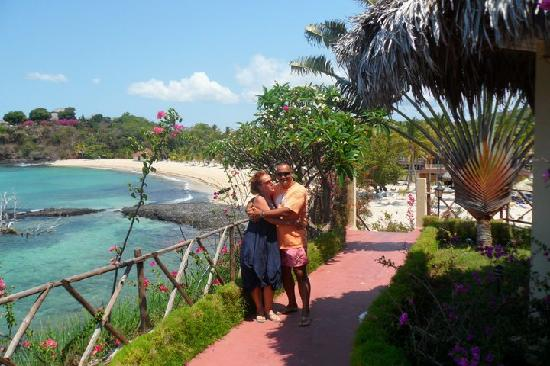 Andilana Beach Resort: Vista dal Pily Pily