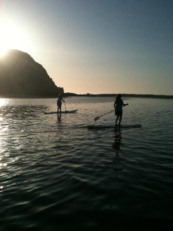 Central Coast Stand Up Paddling: Typical Afternoon paddling in Morro Bay!