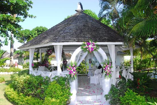 Royal Decameron Club Caribbean: our wedding gazebo! x