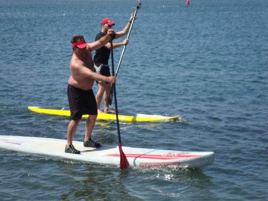 Central Coast Stand Up Paddling: Racing!