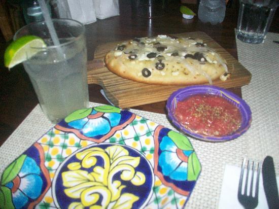 Olivia: olive focaccia bread