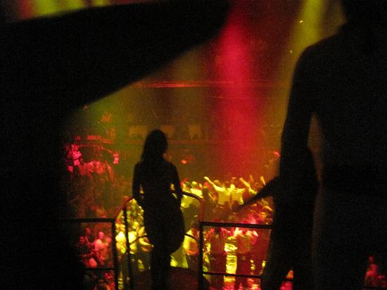 Coco Bongo Playa del Carmen: From the stage looking out