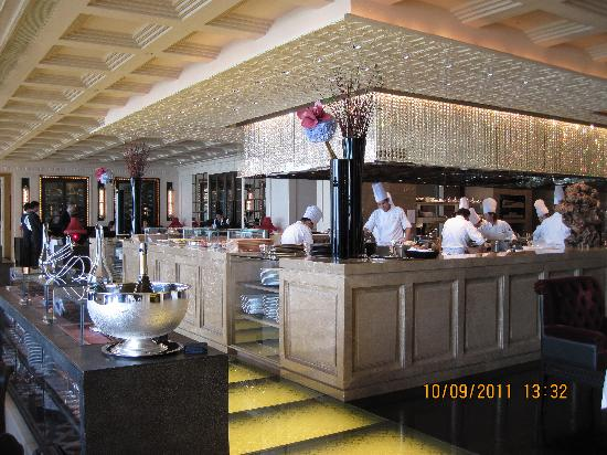 Caprice (Central): Open Kitchen of Caprice