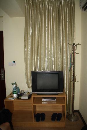 Happy Hotel: tv corner in double