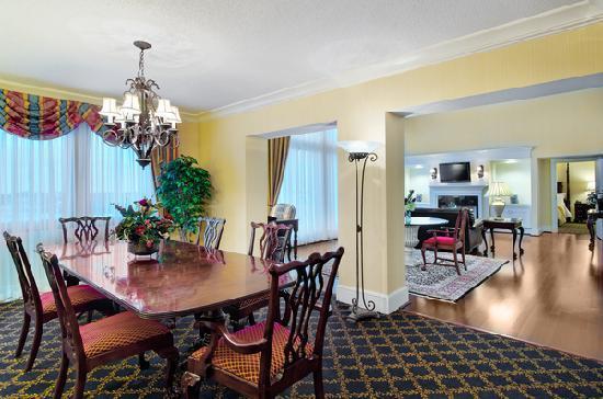 Spartanburg Marriott: Presidential Suite