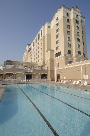 Spartanburg Marriott: Outdoor Pool
