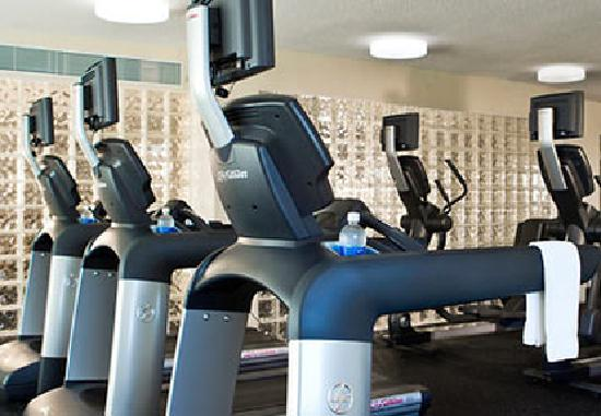 Spartanburg Marriott: Fitness Center