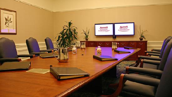 Spartanburg Marriott: Executive Boardroom