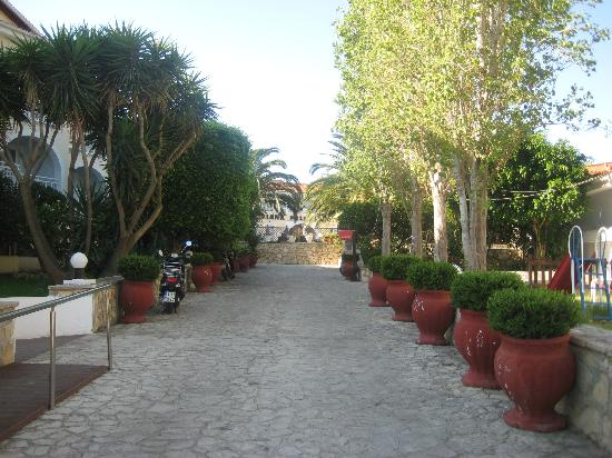 Diana Palace Hotel: Grounds