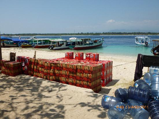 Gili Trawangan, Indonesia: do you like bintang?