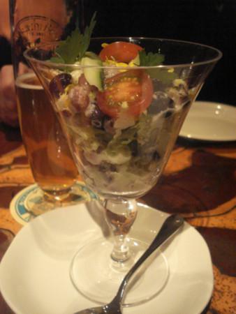 Tokachi Farmers Restaurant: 前回オーダー時のお豆サラダ