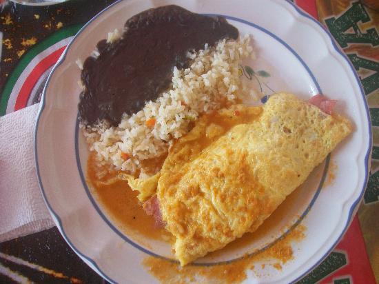 Loncheria Alexia y Geovanny: Ham n cheese omelet