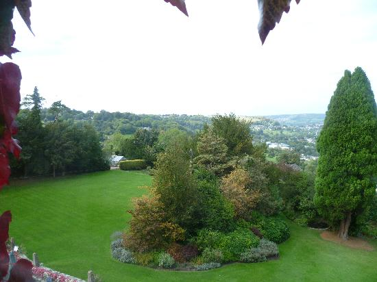 Burleigh Court Hotel: view from room