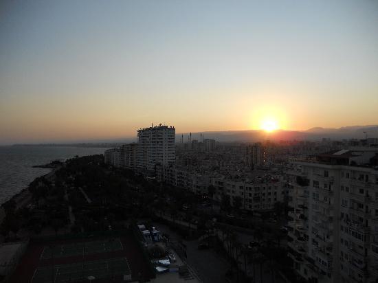 Mersin HiltonSA: Sunset