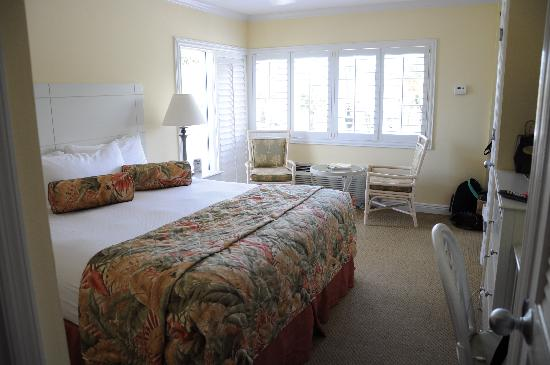 Inn at the Beach: Gulf view room