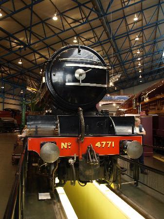 พิพิธภัณฑ์รถไฟแห่งชาติ: The train you can walk under
