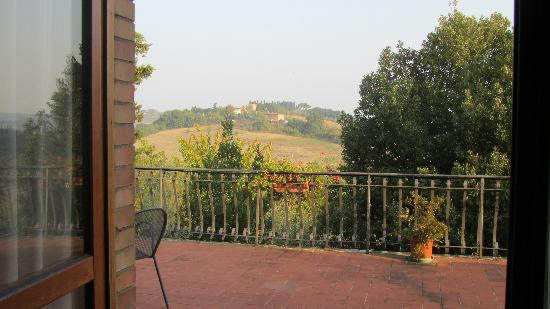 View from the patio, agriturismo Malafrasca