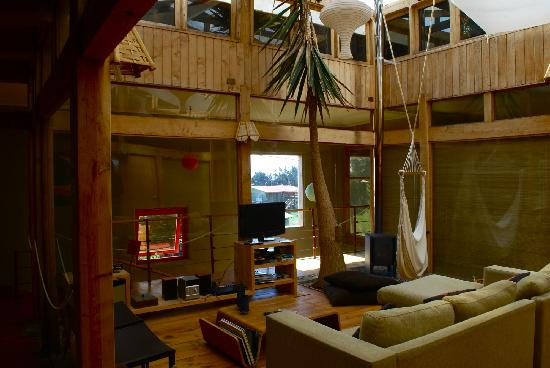 The Shared Area Of The Hostel The Natural Surf Wonderland Picture Of Natural Surf Lodge Pichilemu Tripadvisor
