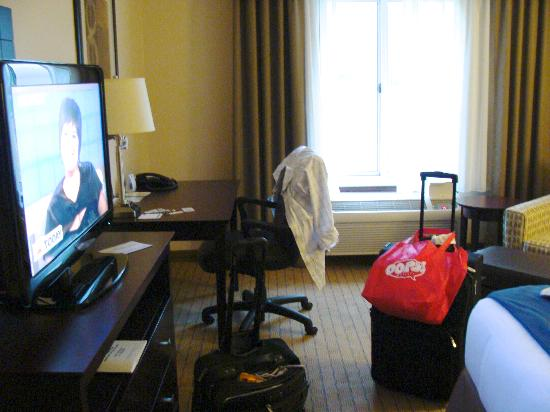 Holiday Inn Express Washington Court House: Flat Screen TV & Desk