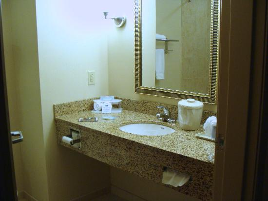 Holiday Inn Express Washington Court House: Bathroom