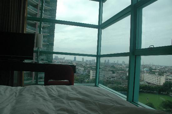 โรงแรม ชาเทรียม ริเวอร์ไซค์ กรุงเทพฯ: Vistas desde el 11ª piso