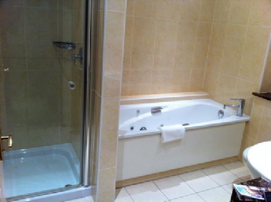Bagno con vasca idromassaggio - Foto de Castlewood House, Dingle ...