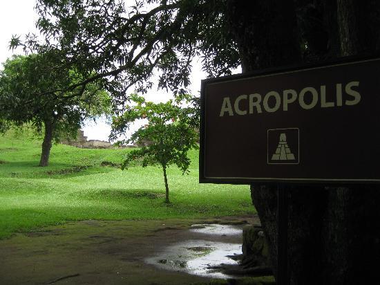 Tourin El Salvador: Acropolis