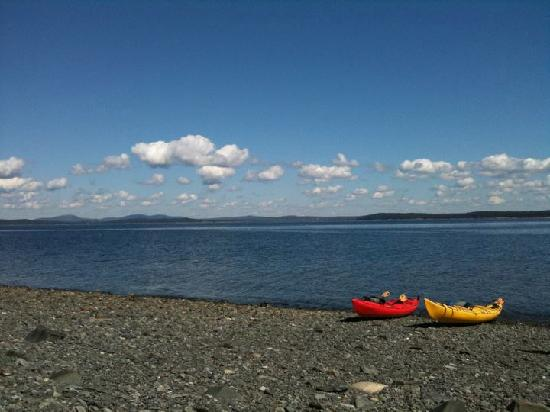 Acadia Park Kayak Tours: Break on a Porcupine Island