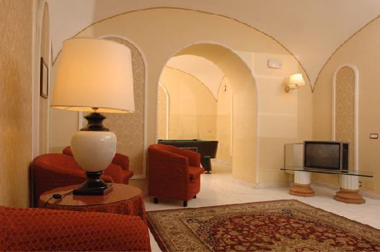 Hotel Nuovo Rebecchino : Sala tv