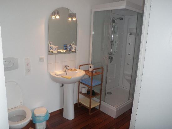 Les Bois d'Esves: La salle de bains
