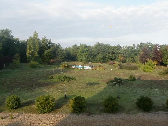 Les Bois d'Esves: Vue du balcon