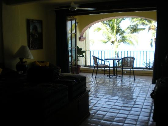 Lindo Mar Resort: View from Master bedroom in 2br Deluxe