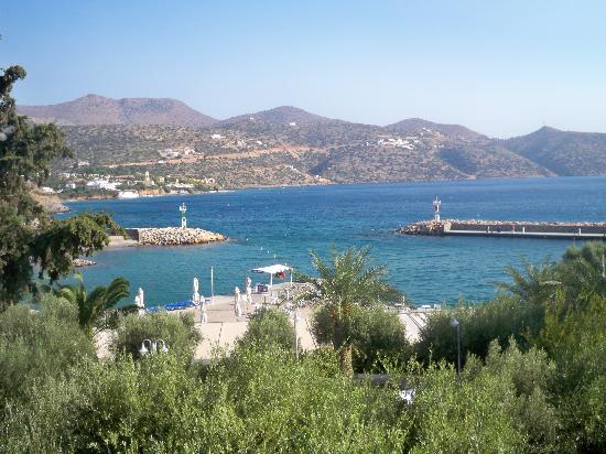 Mirabello Beach & Village Hotel: Stunning scenery