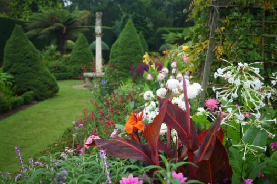 Exbury, UK: The exotics of the Sundial Garden give wonderful summer colour and scent
