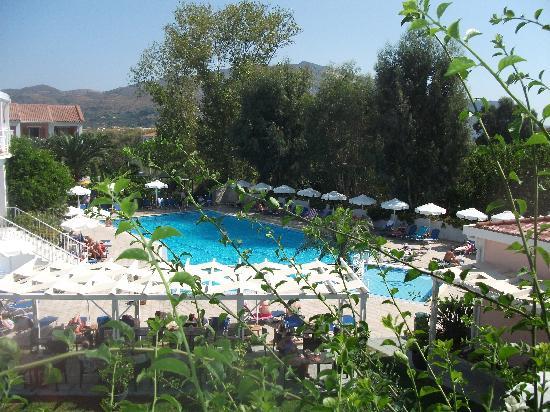Bitzaro Palace Hotel: view from balcony