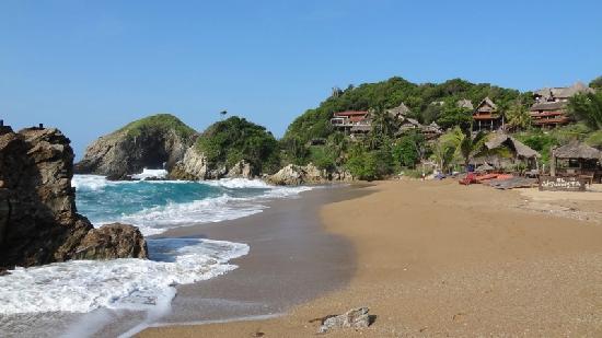 Casa Sol Zipolite: La grande plage