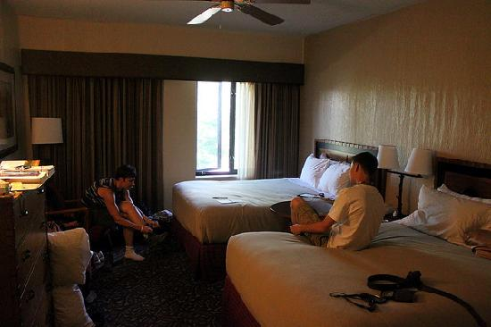 Jackson Lake Lodge: One of the rooms.